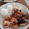 Specialty Small Mixed Plate( Kalbi/Shrimp)