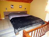 Slaapkamer vakantieverblijf Sur Les Sarts Ardennen