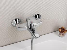 Napoli Bath & Shower Single Lever Mixer.