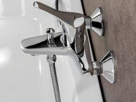 Palermo Bath & Shower Single Lever Mixer