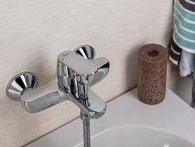 Padova Bath & Shower Single Lever Mixer.