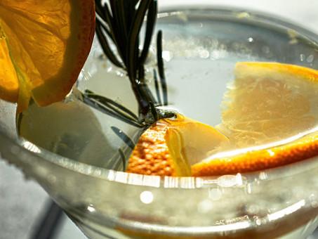 Cocktail Recipe: Orange Rosemary Smash