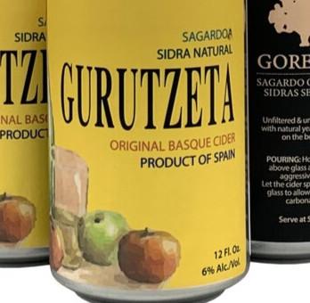 Review: Gurutzeta Original Basque Cider