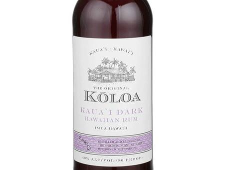 Spirit Review and Recipe: Kōloa Dark Rum