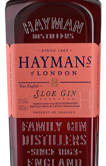 Spirit Review and Cocktail Recipe: Hayman's Sloe Gin