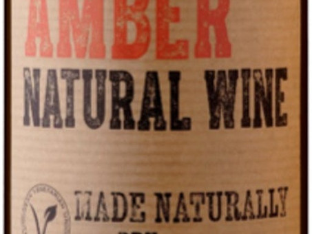 Review: 2019 Amber Natural Wine