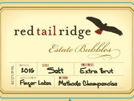 Review: 2016 Red Tail Ridge Sekt Sparkling Riesling