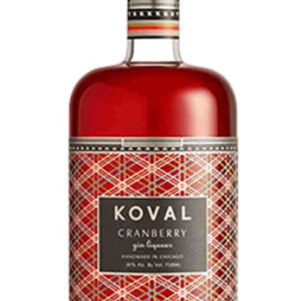 Spirit Review and Recipe: Koval Cranberry Gin