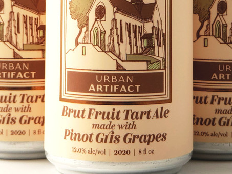 Review: Urban Artifact Brut Fruit Tart Ale with Pinot Grigio Grapes