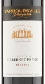Review: 2017 Barboursville Vineyards Cabernet Franc Reserve