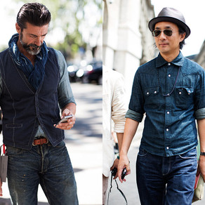 Yes, you can wear denim-on-denim!