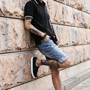 Street Style:  Distressed Shorts
