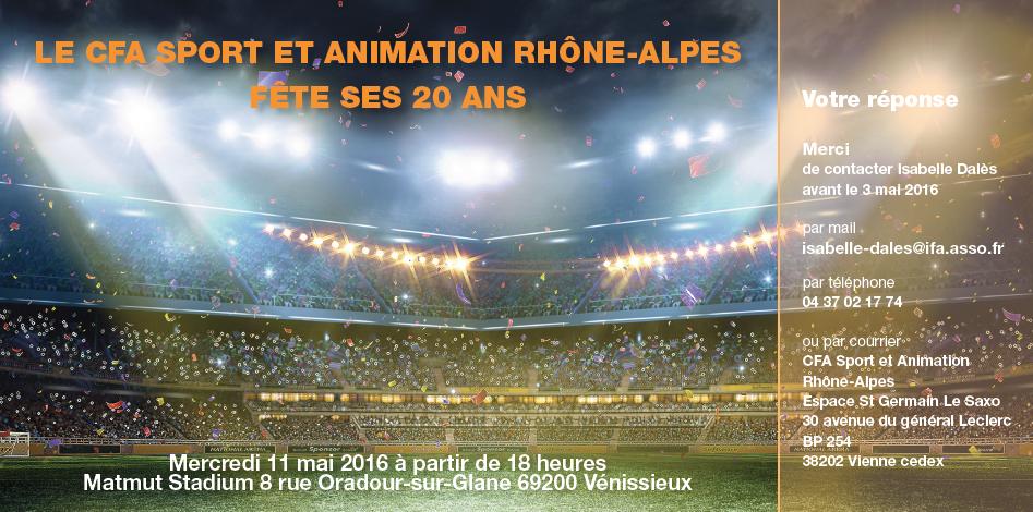 invitation CFA Auvergne Rhone-Alpes