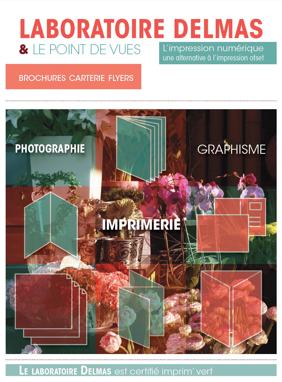 couverture de brochure imprimeur