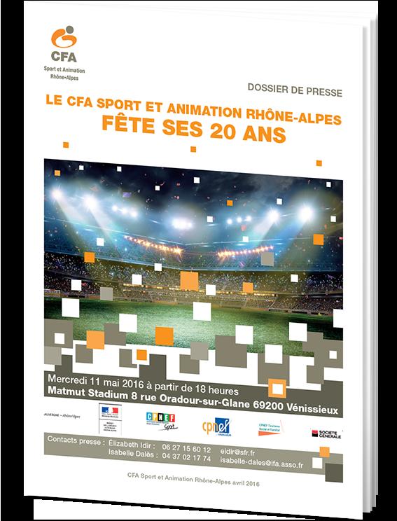 dossier de presse 20 Ans CFA