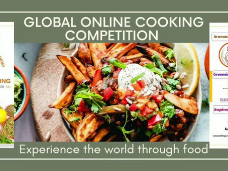 Global Online Cooking Competition 2020 by Inspire Living Management Academy and IBPA New Delhi -