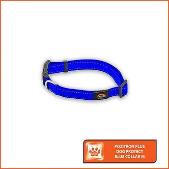 POZITRON CHIEN - Collier Rouge ou Bleu: Taille L -