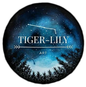 Tiger Lily Art
