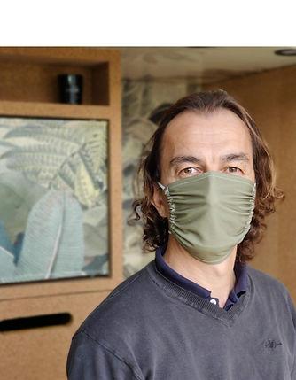 Masque tissu personnalisable