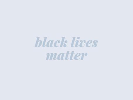 black lives matter // educational resources