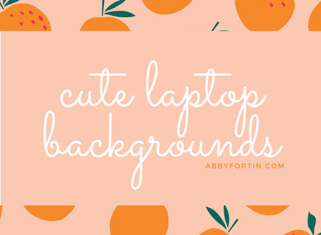 some of my favorite laptop backgrounds!