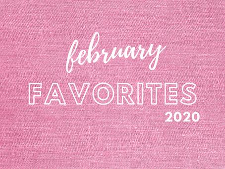 february favorites [2020]
