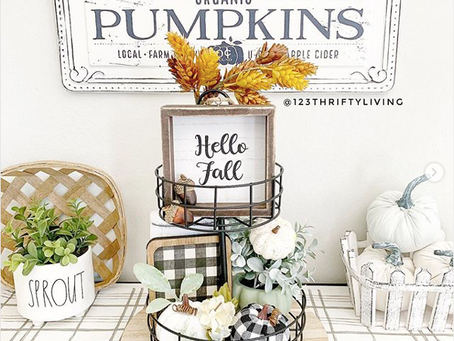 feeling fall: decorating your home for the autumn season