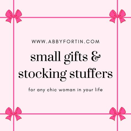 small gifts & stocking stuffers