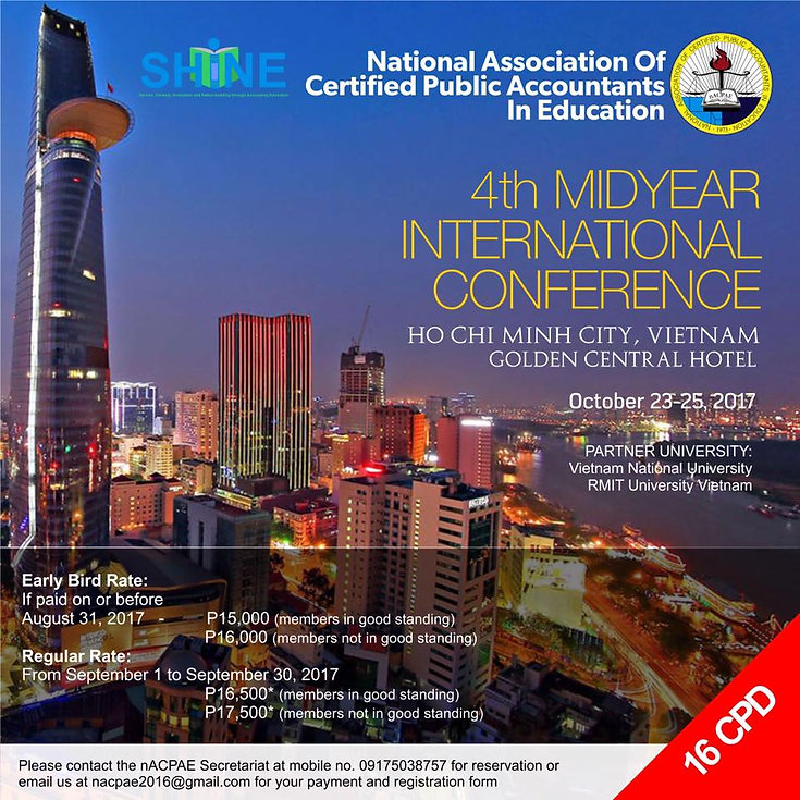 4th Midyear International Conference in Vietnam