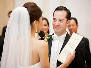 Клятвы Жениха и Невесты на Выездной Регистрации.