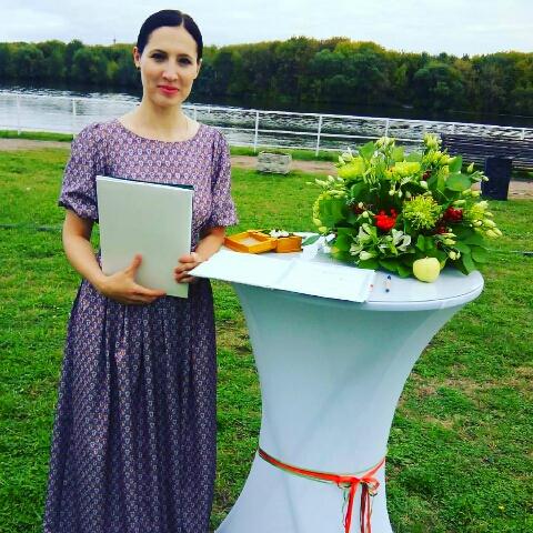 Регистратор на свадьбу