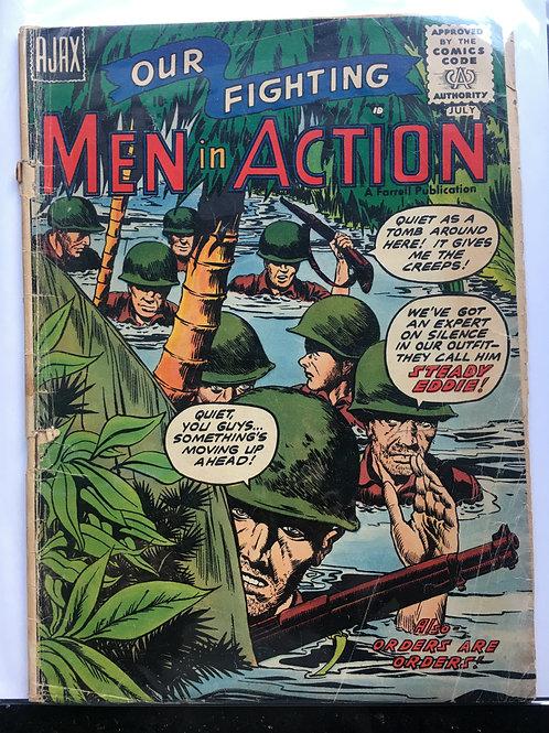 Our Fighting Men in Action # 2 (Ajax)