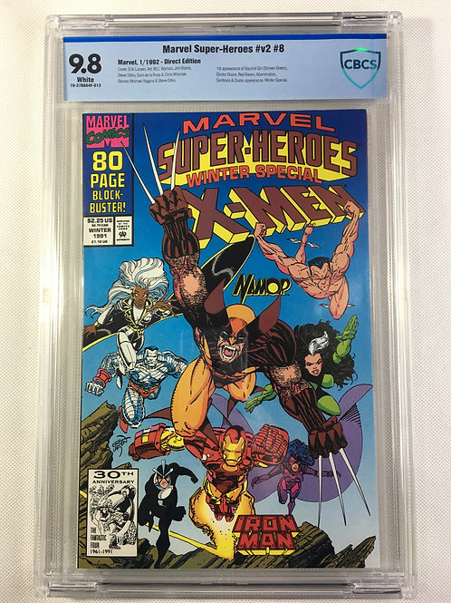 Marvel Super-Heroes Winter Special v2 #8 CBCS 9.8