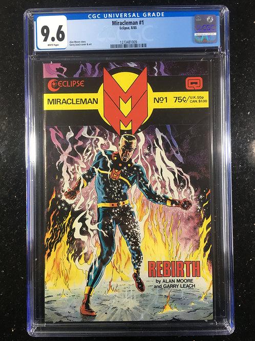 Miracleman #1 CGC 9.6
