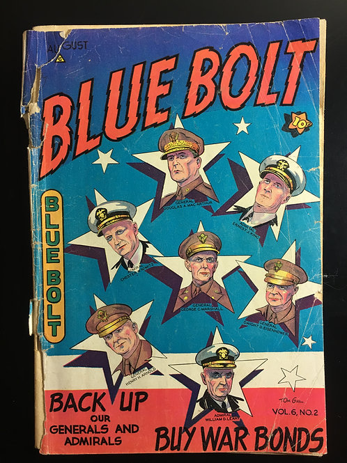 Blue Bolt Volume 6 #2