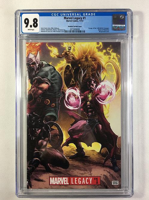 Marvel Legacy #1 CGC 9.8 1:500 Deodato variant