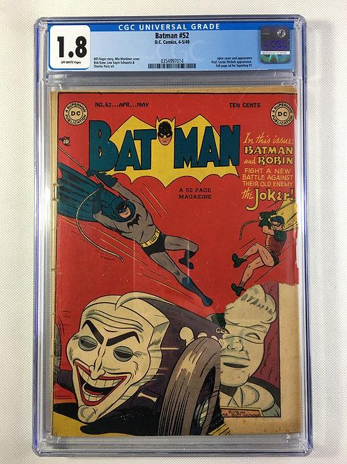 Batman #52 CGC 1.8