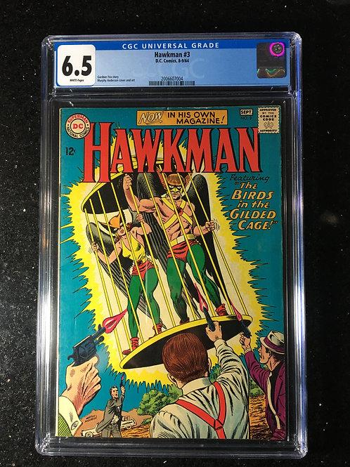 Hawkman #3 CGC 6.5