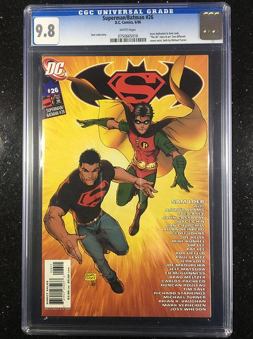 Superman/Batman #26 CGC 9.8