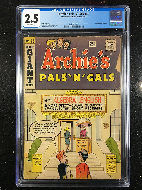 Archies Pals n Gals #23 CGC 2.5
