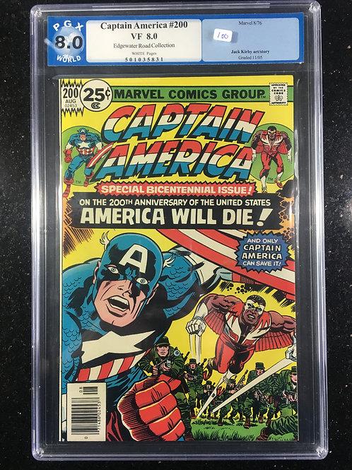 Captain America #200 PGX 8.0