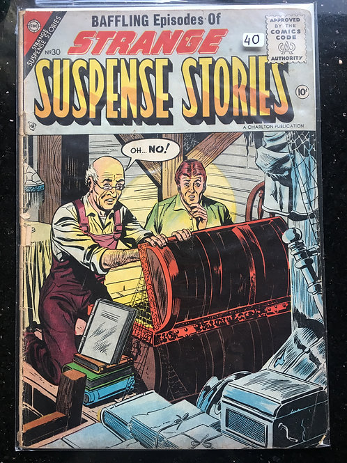 Strange Suspense Stories #30