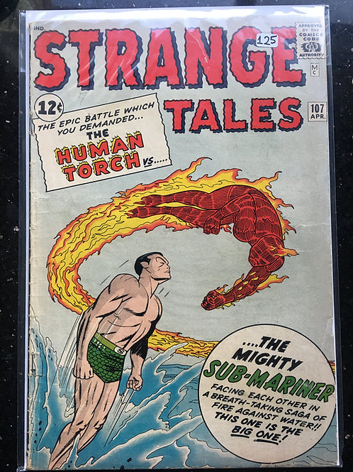 Strange Tales #107