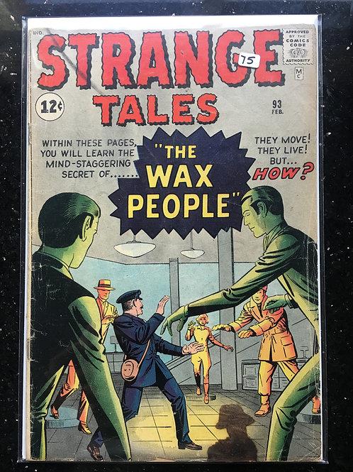 Strange Tales #93