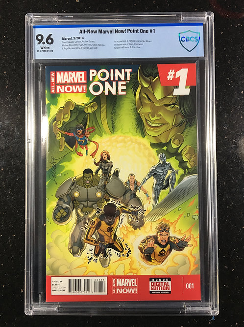 All New Marvel Now Point One #1 CBCS 9.6