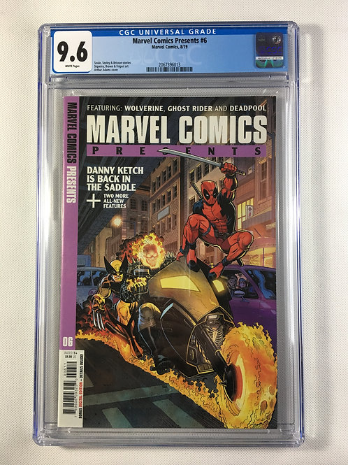 Marvel Comics Presents #6 CGC 9.6