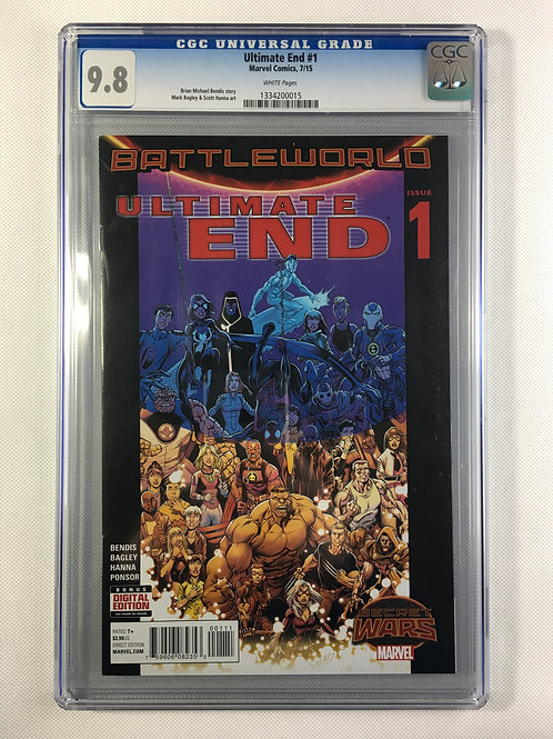 Ultimate End #1 CGC 9.8