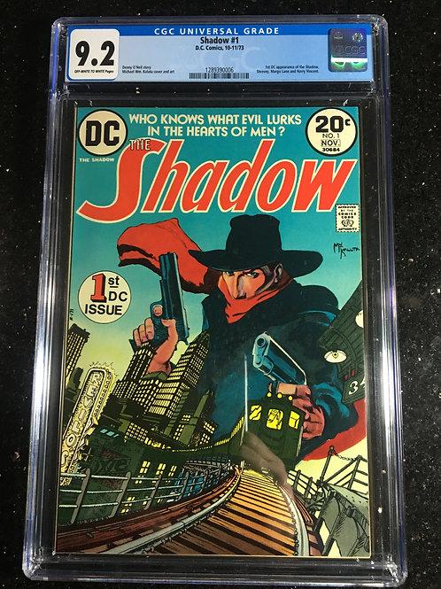 The Shadow #1 CGC 9.2