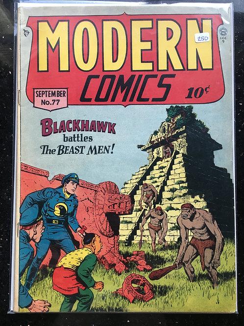 Modern Comics #77