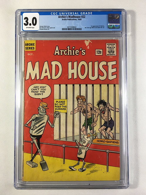Archie's Mad House #22 CGC 3.0